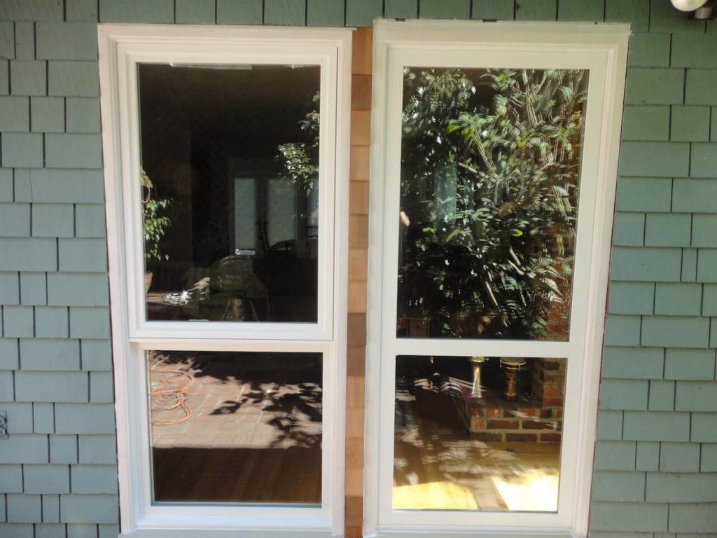 Plastpro door modern door for New construction windows